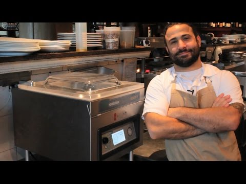 Chef Brad Daniels and his Henkelman - Osteria