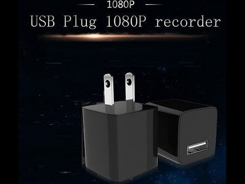 HD 1080p -Covered Lens AC Plug Charger DVR Adapter Spy Camera