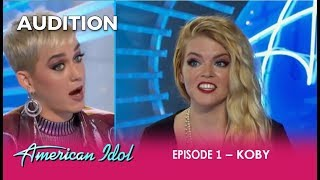 Video Koby: She's Got ATTITUDE and Gets a Katy Perry Reality Check!  | American Idol 2018 MP3, 3GP, MP4, WEBM, AVI, FLV Maret 2018