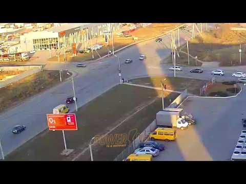 Авария с пешеходом