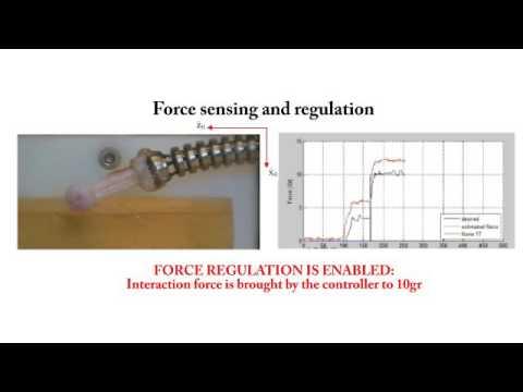 Force control continuum robots part 1