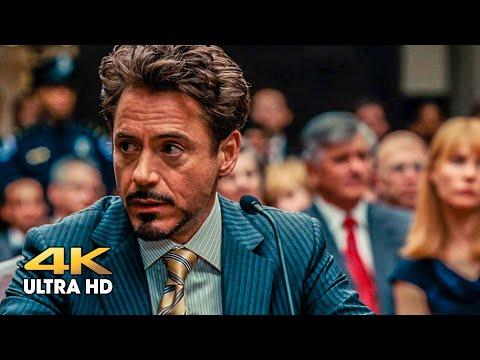Tony Stark at the court hearing. Iron Man 2