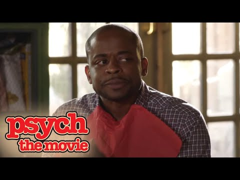 Best Of Psych: The Movie | Shawn's Dad Shows Up For Christmas