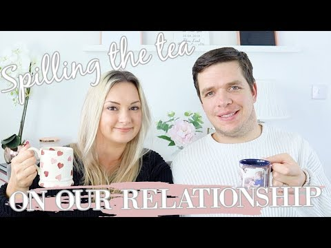 SPILLING THE TEA ON OUR RELATIONSHIP | HUSBAND AND WIFE Q&A | MRS SMITH & CO.