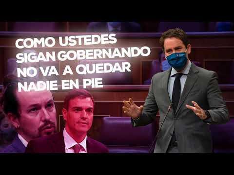 """Teodoro García Egea: """"Como ustedes sigan gobernando no va a quedar nadie en pie"""""""