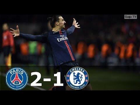 Paris Saint German vs Chelsea 2-1 - UCL 2015/2016 (1st Leg) - Full Highlights (English Commentary)