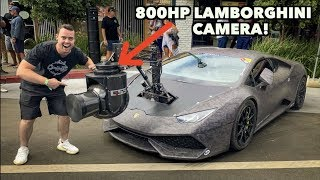 RARE 800HP LAMBORGHINI WITH A $1 MILLION DOLLAR CAMERA ATTACHED! by Vehicle Virgins