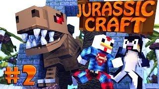 "Minecraft   Jurassic Craft - Dinosaurs Ep 2 ""NEW JURASSIC PARK"""