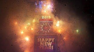 2015 recebido com muita cor e animação um pouco por todo o planeta