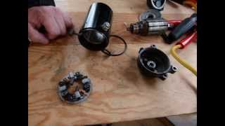 4. Servicing/rebuild your starter motor