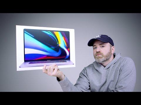 Mở hộp MacBook Pro 16 inch
