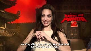 Kungfu Panda 2 - Ngô Thanh Vân Trò Chuyện Cùng Angelina Jolie&Jack Black