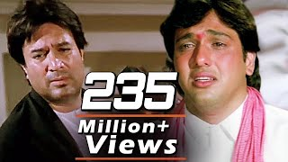 Video 'Ae Mere Dost Laut Ke Aaja' Full Video 4K Song | Rajesh Khanna, Govinda | Hindi Sad Song - Swarg MP3, 3GP, MP4, WEBM, AVI, FLV November 2018