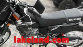 9. Motorcycle For Sale New 2007 Suzuki DR200 Dirt Bike