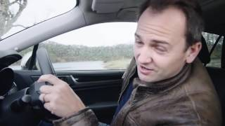 Former Stig gets wet 'n wild in Outback test drive