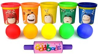 Video Play Doh Oddbods Can Heads Learn Colors with Fun Molds Oddbods Surprise Toys Learn Shapes for Kids MP3, 3GP, MP4, WEBM, AVI, FLV September 2018