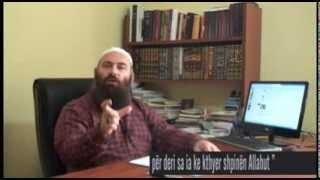 57.) Jeta jote është katastrofë për deri sa ia ke kthyer shpinën Allahut - Hoxhë Bekir Halimi