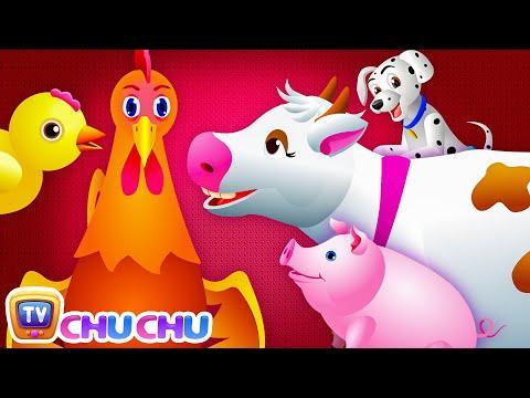 Old MacDonald Had a Farm Nursery Rhyme with Lyrics - Cartoon Animation Rhymes Songs for Children