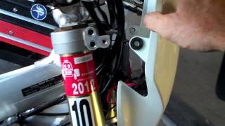 9. första delen How to make a Honda CRF450X Street Legal. Part 1 of 2
