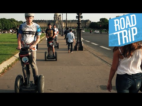 PARIS mit SEGWAYS! | #ROADTR7P Tag 13 | Dner