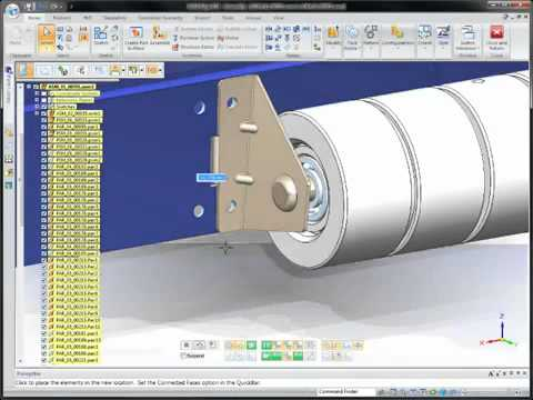 3D Design Software | Solid Edge ST4  Video Image