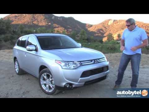 2014 Mitsubishi Outlander GT Video Review