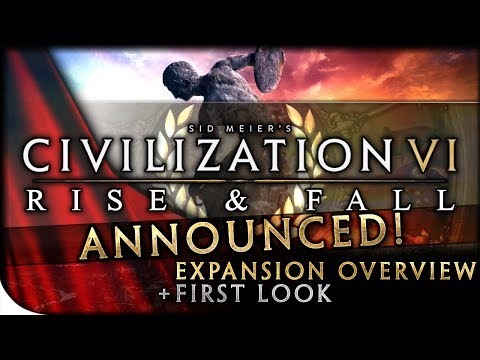 Civilization VI: RISE & FALL EXPANSION - First Look, Dev Diary Overview & Initial Discussion