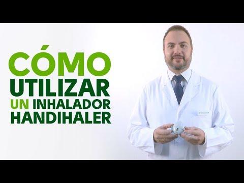 Cómo utilizar correctamente un inhalador Handihaler