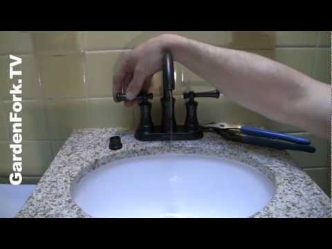 Install a Bath Sink and Vanity