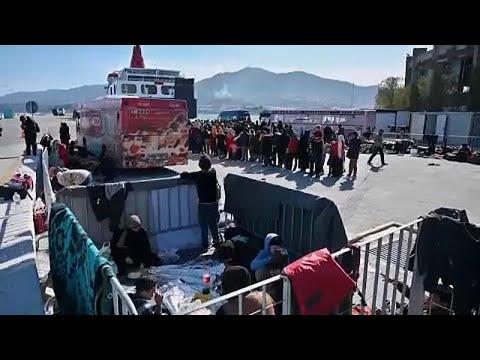 Λέσβος: Αρματαγωγό θα φιλοξενήσει 400 μετανάστες