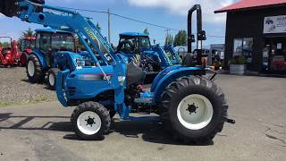 8. LS Tractor XG3025H walk around