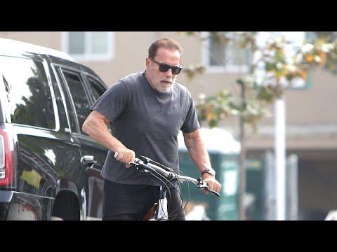 Arnold Schwarzenegger And BFF Ralf Moeller Go Cruising Through LA