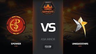 5POWER vs Uniquestars, map 2 mirage, Asia Minor – FACEIT Major 2018
