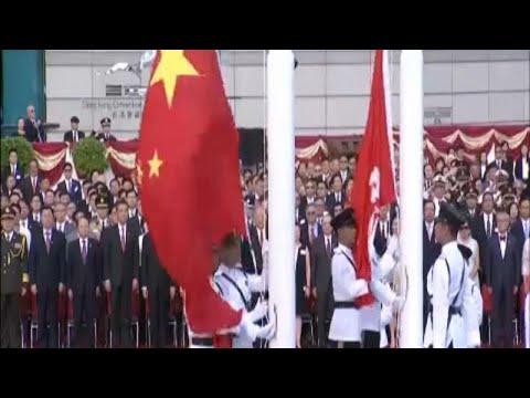 Εορτασμοί για την 21η επέτειο επιστροφής του Χονγκ Κονγκ στην Κίνα…