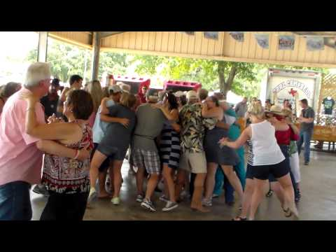 RED RAVENS POLKA BAND - MOULTON, TX. 07-26-2015