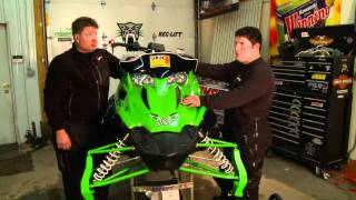 7. Sledhead 24/7 and Speedwerx budget build a Arctic Cat Sno Pro 500. Ep10Act3