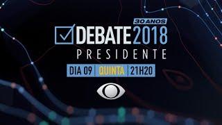 Debate na Band: reveja na íntegra o 1º confronto entre os presidenciáveis