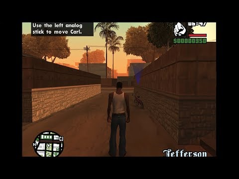 Как выглядит GTA San Andreas на PlayStation 2?