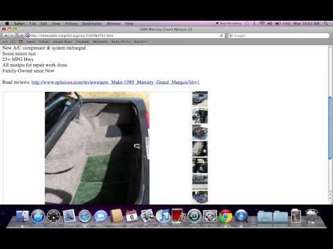 Craigslist Milwaukee Used Cars and Trucks - Honda Accord Models Under ...