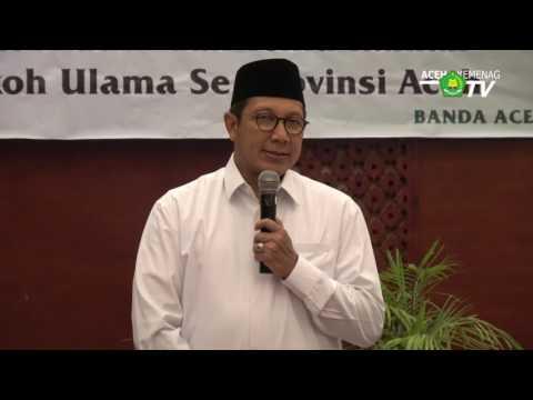 Silaturrahmi Menag dengan Para Ulama Aceh