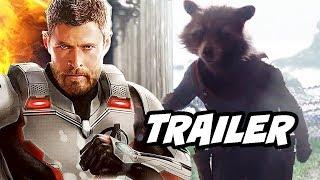 Avengers Endgame Trailer - New Armor Upgrades and Deleted Scenes Breakdown