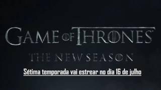 """HBO anunciou que a sétima temporada de """"Game of Thrones"""" vai estrear no dia 16 de julho."""