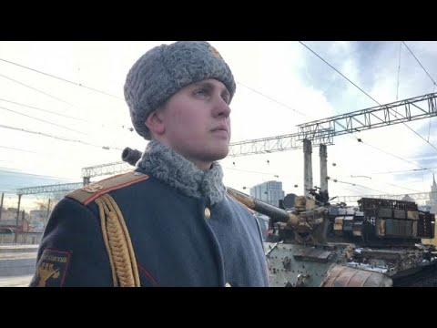 Ρωσικό τρένο γίνεται μουσείο με λάφυρα από τον πόλεμο στη Συρία…