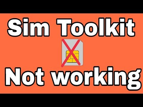 How To Fix Sim Toolkit Not Working Problem Solve In Andoird