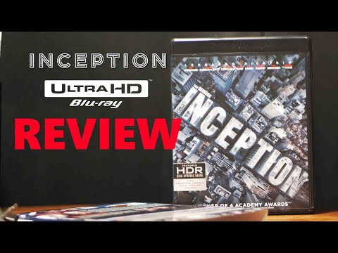 Inception 4K Bluray Review | Unboxing | Christopher Nolan 4K Collection