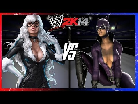 WWE 2K14 S2E2 - Black Cat VS Catwoman (Ladder Match)