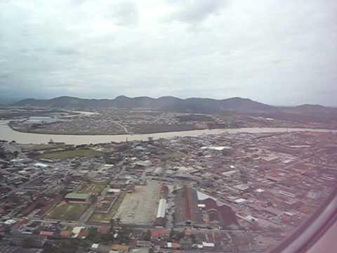 landing at navegantes airport, SC, Brasil /aterrisagem em navegantes, sc