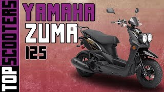 9. Yamaha Zuma 125 Scooter