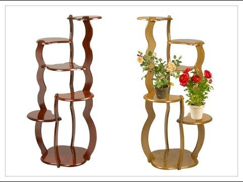 Этажерка для цветов из дерева