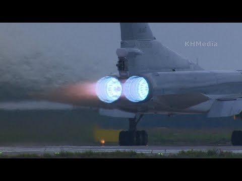 Вылет Ту-22М3. Раменское. Как же хорош!